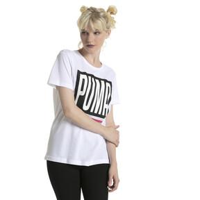 Thumbnail 2 of Evolution Women's Logo T-Shirt, Puma White, medium