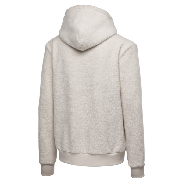 PUMA x BIG SEAN Zip-Up Men's Hoodie, Birch, large