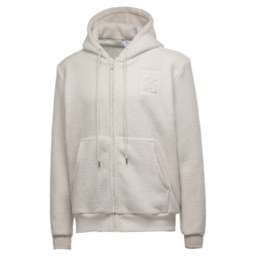 Thumbnail 1 of PUMA x BIG SEAN Zip-Up Men's Hoodie, Birch, medium