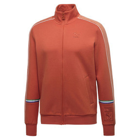 Thumbnail 1 of PUMA x BIG SEAN T7 Zip-Up Men's Jacket, Burnt Ochre, medium