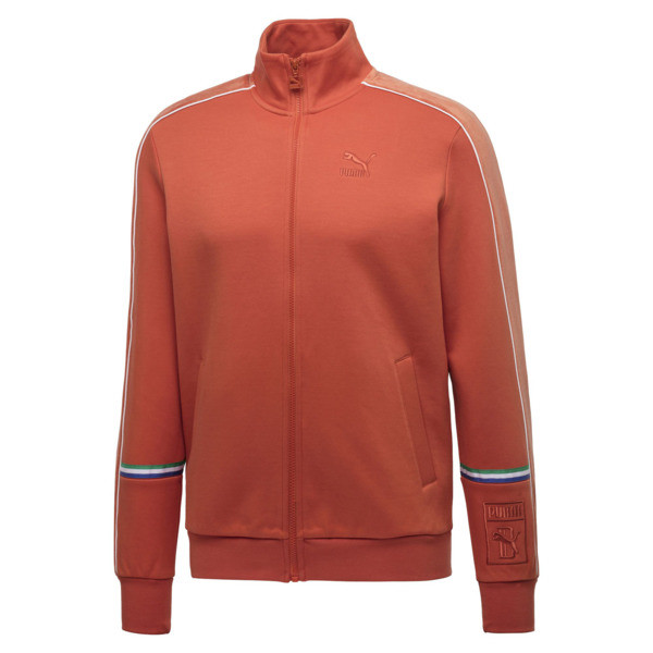 PUMA x BIG SEAN T7 Zip-Up Men's Jacket, Burnt Ochre, large