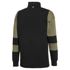 Thumbnail 2 of PUMA x BIG SEAN Herren Half Zip Sweatshirt, Puma Black, medium