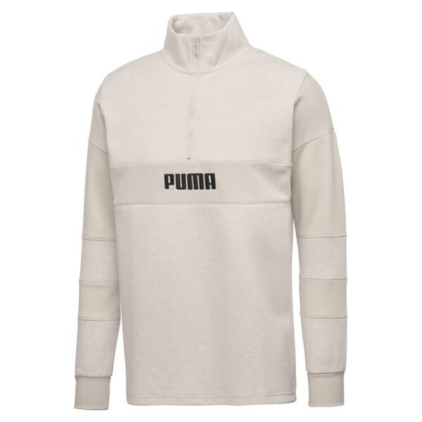 PUMA x BIG SEAN Half Zip Men's Pullover, Birch, large