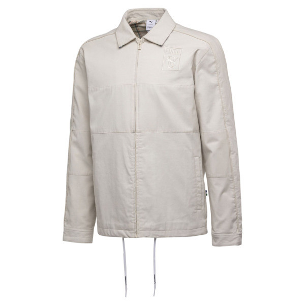 PUMA x BIG SEAN Zip-Up Men's Jacket, Birch, large