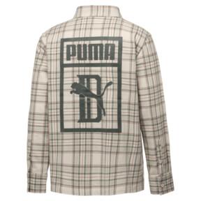 Thumbnail 2 of PUMA x BIG SEAN Long Sleeve Chequered Men's Shirt, Birch-check, medium