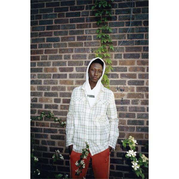PUMA x BIG SEAN Long Sleeve Chequered Men's Shirt, Birch-check, large