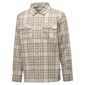 Thumbnail 1 of PUMA x BIG SEAN Long Sleeve Chequered Men's Shirt, Birch-check, medium