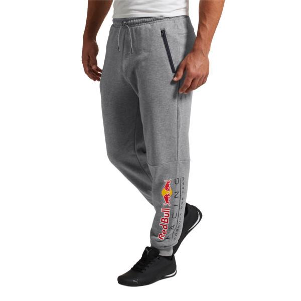 Red Bull Racing Men's Sweatpants, Medium Gray Heather, large