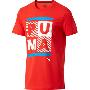 Thumbnail 1 of Fourth of July T-Shirt, Flame Scarlet, medium