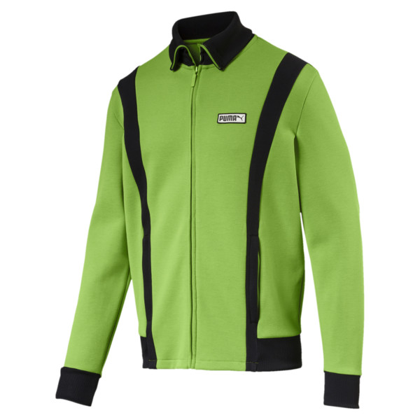 T7 Spezial Zip-Up Men's Track Jacket, Greenery, large