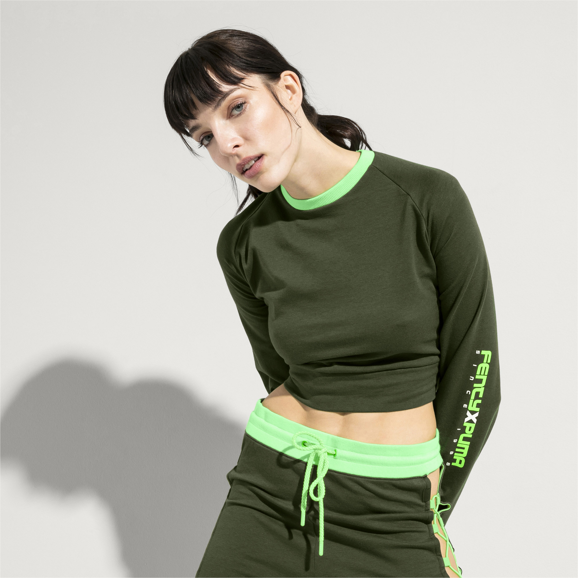 Image Puma FENTY Women's Laced Sweatshirt #2