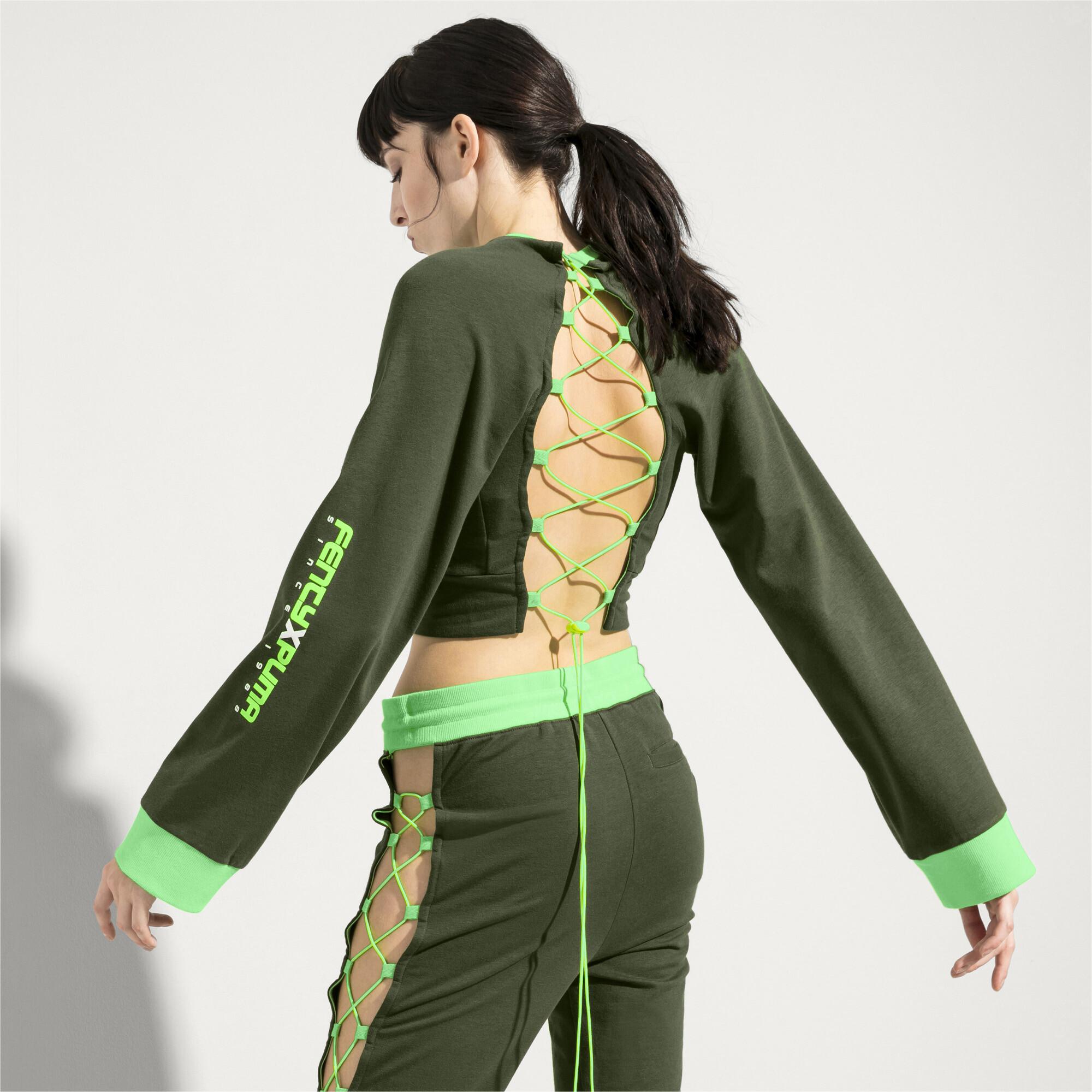 Image Puma FENTY Women's Laced Sweatshirt #3