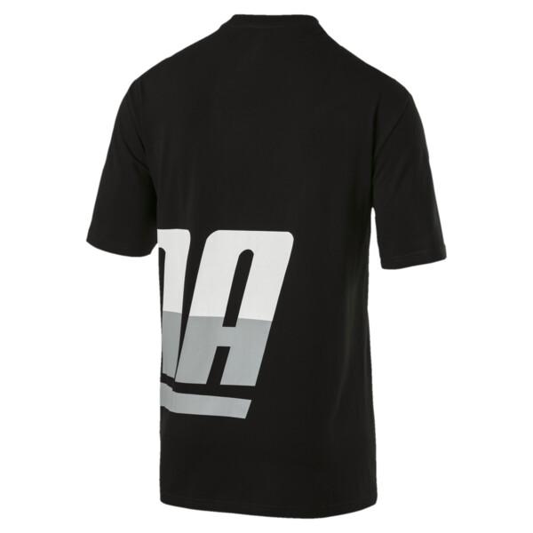 Men's Loud T-Shirt, Cotton Black, large
