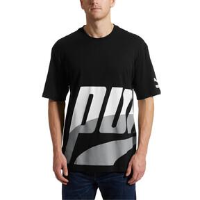 Thumbnail 2 of Men's Loud T-Shirt, Cotton Black, medium