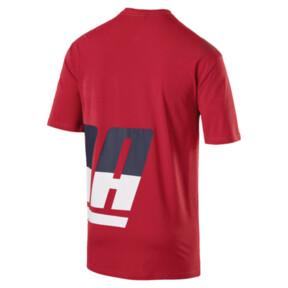 Thumbnail 4 of Men's Loud T-Shirt, Ribbon Red, medium