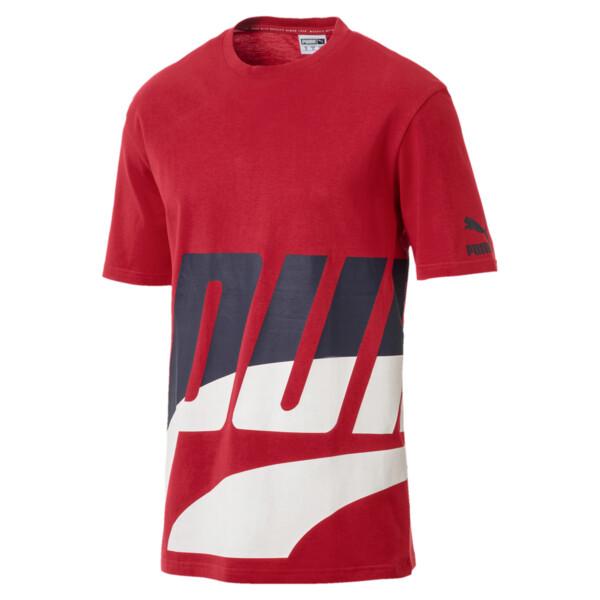 Men's Loud T-Shirt, Ribbon Red, large