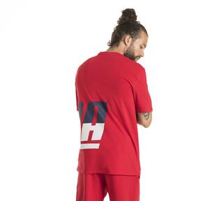 Thumbnail 3 of Men's Loud T-Shirt, Ribbon Red, medium
