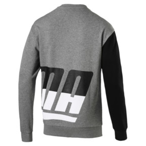 Thumbnail 3 of Men's Loud Sweatshirt, Medium Gray Heather, medium