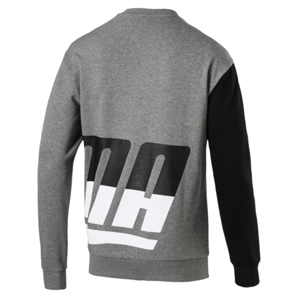 Men's Loud Sweatshirt, Medium Gray Heather, large