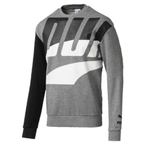 Thumbnail 1 of Men's Loud Sweatshirt, Medium Gray Heather, medium