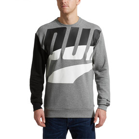 Thumbnail 2 of Men's Loud Sweatshirt, Medium Gray Heather, medium