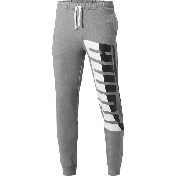 Men's Loud Pants, Medium Gray Heather, large