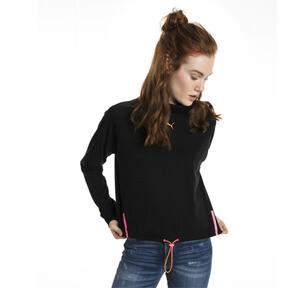 Thumbnail 2 of Chase Long Sleeve Women's Top, Cotton Black, medium