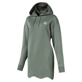Thumbnail 1 of Scallop Elongated Women's Hoodie, Laurel Wreath, medium