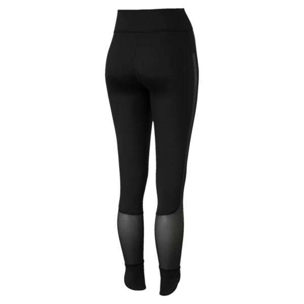 Scallop Women's Leggings, Puma Black, large