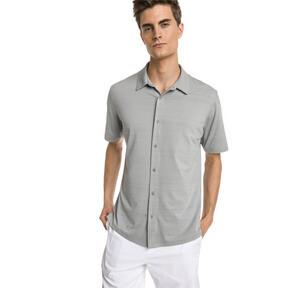 Thumbnail 1 of Breezer Short Sleeve Men's Golf Shirt, Quarry, medium