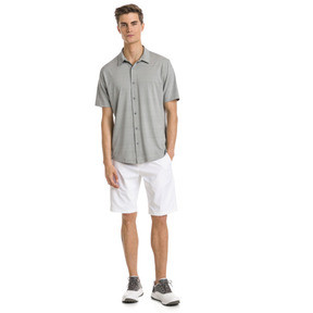 Thumbnail 3 of Breezer Short Sleeve Men's Golf Shirt, Quarry, medium