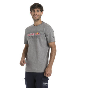 Thumbnail 2 of Red Bull Racing Men's Logo T-Shirt, Medium Gray Heather, medium