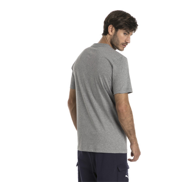 Red Bull Racing Men's Logo T-Shirt, Medium Gray Heather, large