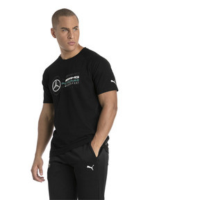 Thumbnail 1 of T-Shirt MERCEDES AMG PETRONAS Logo pour homme, Puma Black, medium
