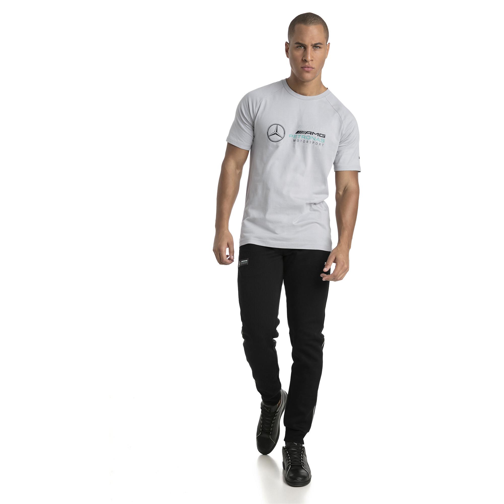 Image Puma MERCEDES AMG PETRONAS Men's Logo T-Shirt #3