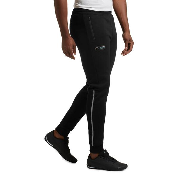 Mercedes AMG Petronas Men's Sweatpants, Puma Black, large