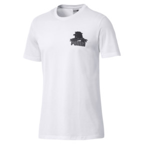 Thumbnail 1 of Graphic Downtown Flock Print T-Shirt, 02, medium