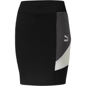 Thumbnail 1 of Retro Tight Skirt, Puma Black, medium