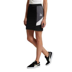 Thumbnail 2 of Retro Tight Skirt, Puma Black, medium