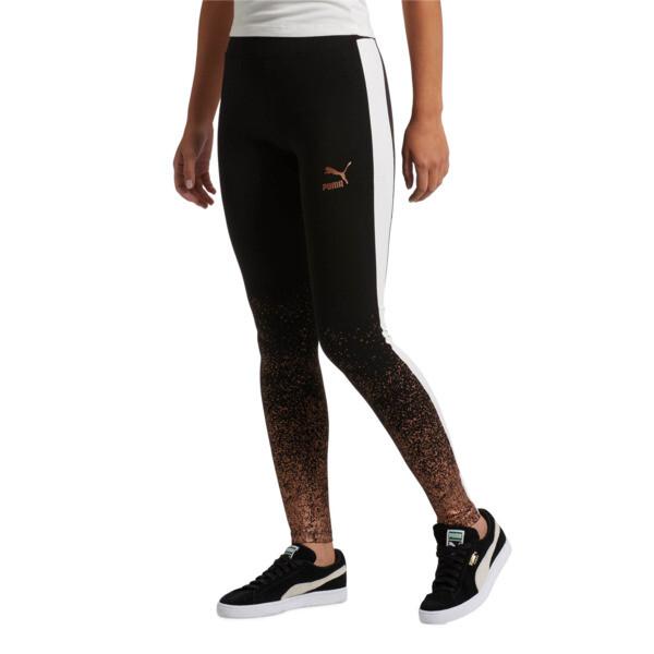 Kiss Artica T7 Women's Leggings, Cotton Black, large