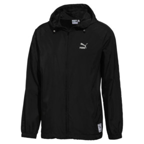 Thumbnail 1 of PUMA x STAPLE T7 WINDBREAKER, Puma Black, medium-JPN