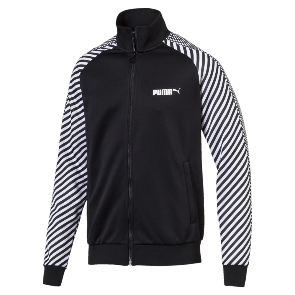 Image Puma T7 Pop Zip-Up Men's Track Jacket #1