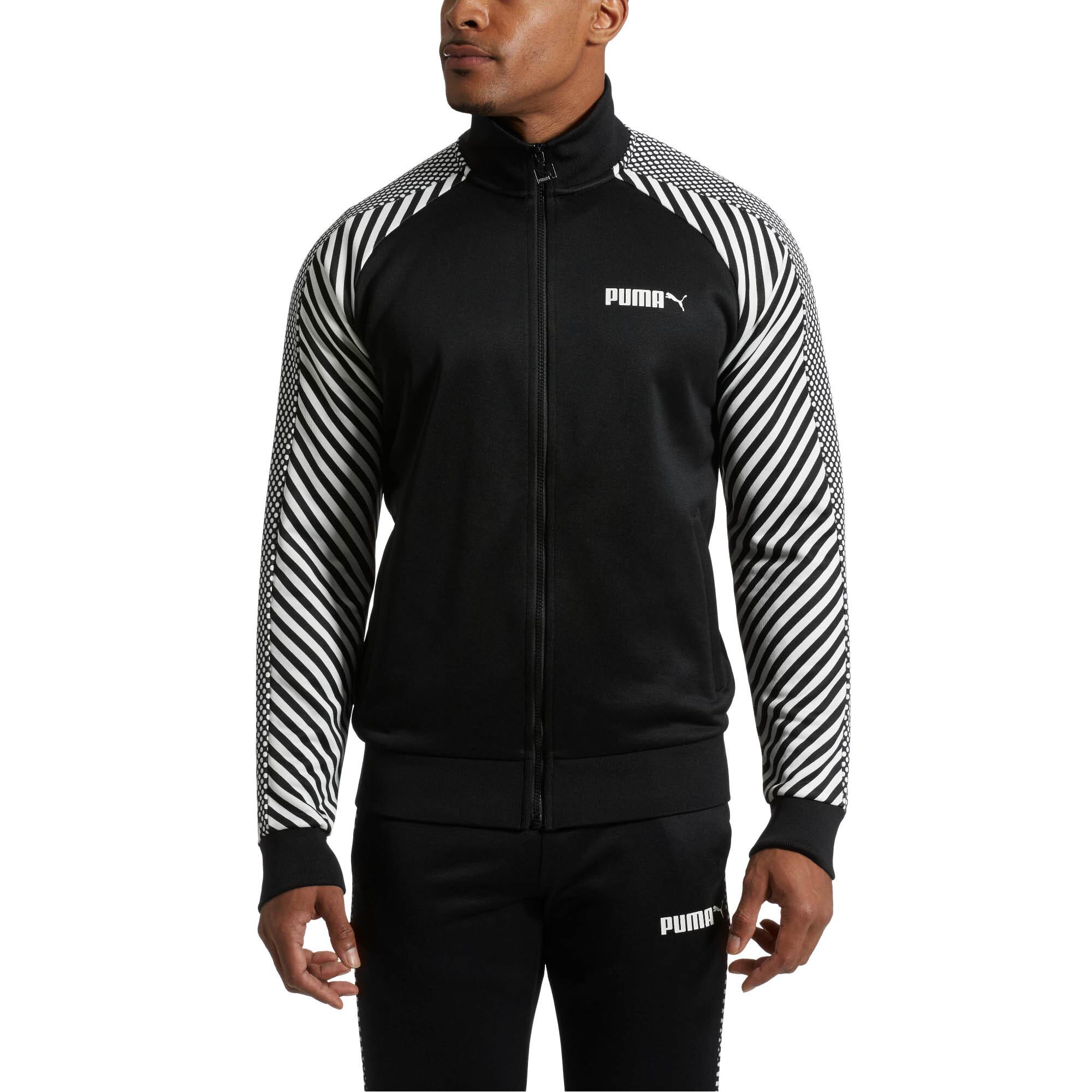Image Puma T7 Pop Zip-Up Men's Track Jacket #1