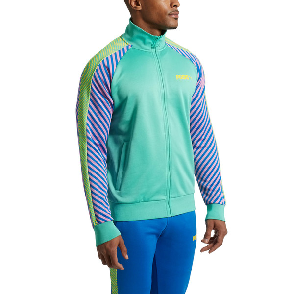 T7 Pop Zip-Up Men's Track Jacket, 34, large