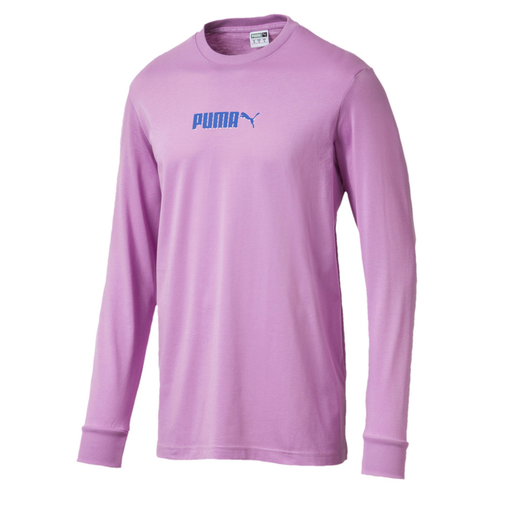 Image Puma T7 Pop Long Sleeve Men's Shirt #1