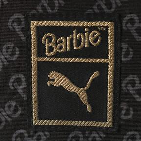 Thumbnail 3 of PUMA x BARBIE WOMEN'S CROPTOP, Puma Black, medium-JPN