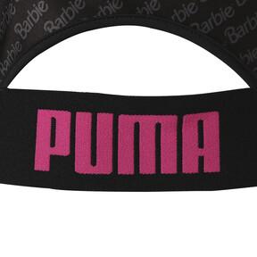 Thumbnail 6 of PUMA x BARBIE WOMEN'S CROPTOP, Puma Black, medium-JPN