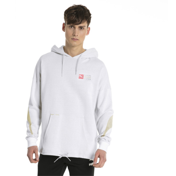 RS-0 Capsule Men's Hoodie, Puma White, large