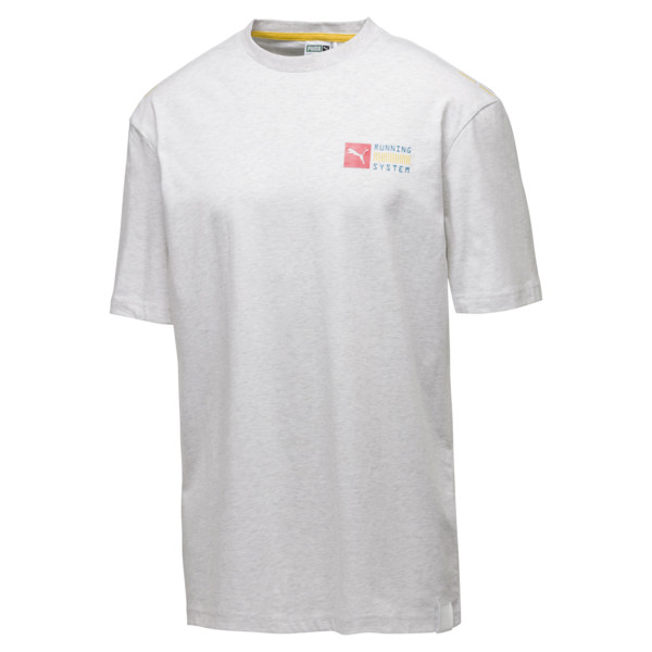 RS-0 Capsule Men's Tee, Puma White Heather, large