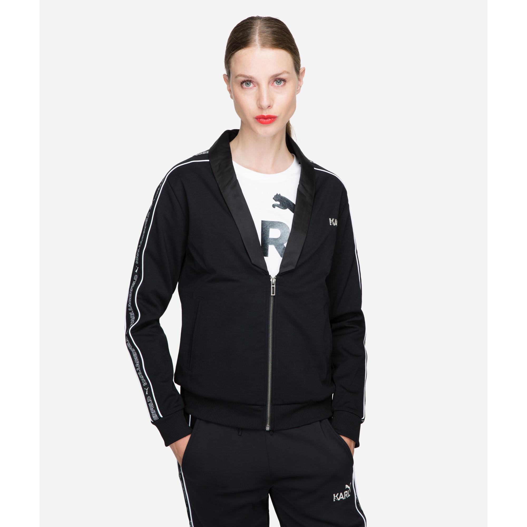 Image Puma PUMA x KARL LAGERFELD T7 Women's Track Jacket #1